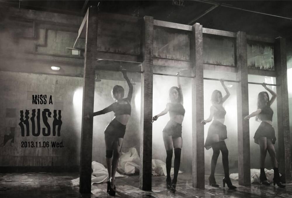 """มาแล้ว!!Miss A กลับมาอีกครั้งในลุคเซ็กซี่ด้วยการปล่อยภาพทีเซอร์สำหรับ """"Hush"""""""