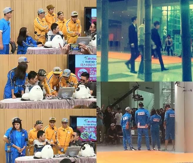 """สามนักแสดงจาก """"Heirs"""" ปาร์คชินเฮ, คิมอูบินและชเวจินฮยอกเข้าร่วมถ่ายรายการ Running Man!!"""