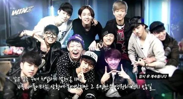 """จินฮวานทีมบีหวังว่าพวกเขาทั้ง 11 คนจะสามารถขอยางฮยอนซอกให้ทุกคนจาก """"WIN"""" เดบิวต์ได้"""