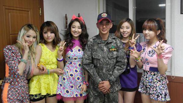 yoo seung ho-ladies code