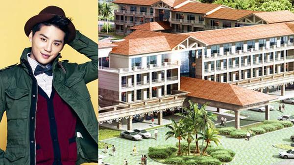 ว้าว!!จุนซู JYJ ลงทุนไปกว่า 12.9 พันล้านวอนเพื่อสร้างโรงแรมในเกาะเชจู!!