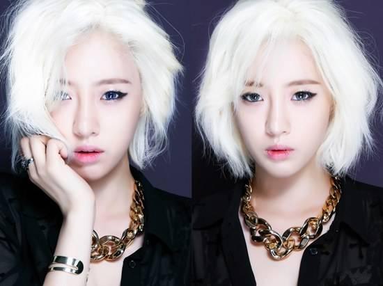 """อึนจอง T-ara ทำผมสีบลอนด์ทองในภาพทีเซอร์เพลงใหม่ """"What Should I Do"""""""