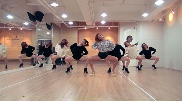 ฮโยริน SISTAR ปล่อยคลิปซ้อมเต้นสุดเซ็กซี่ในเพลง One Way Love