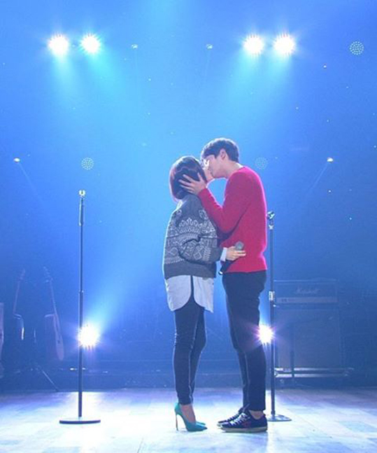 Joo Won-IVY-kiss