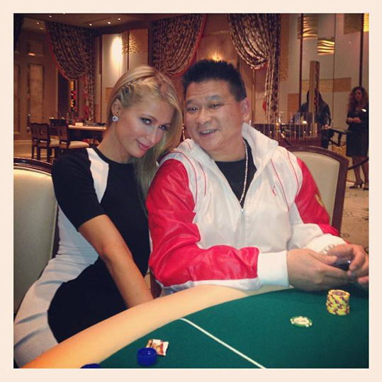 Paris Hilton-2013 MAMA