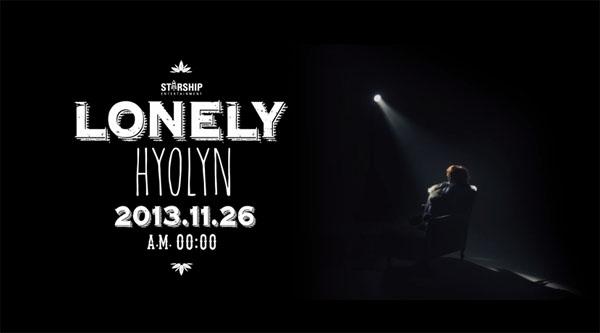 """ฮโยรินปล่อย MV ทีเซอร์เพลง """"Lonely"""" สำหรับการฉายเดี่ยวของเธอ"""