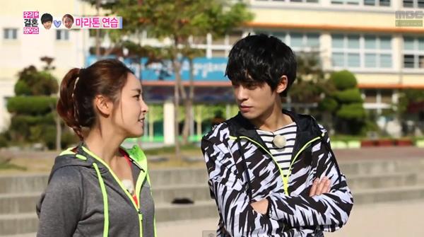 """ในที่สุด!!จองจุนยองและจองยูมีจะได้ไปวิ่งมาราธอนสำหรับ """"2013 Nike We Run Seoul Race"""""""