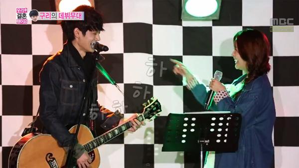 น่ารักอ่ะ!!จองยูมิและจองจุนยองร้องเพลงคู่กันในรายการ We Got Married