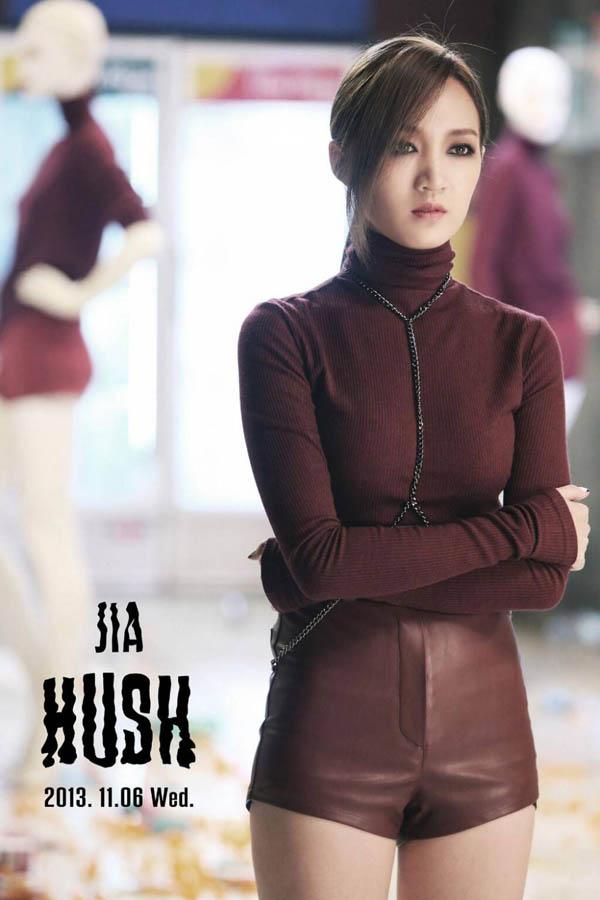 "Miss A ปล่อยภาพทีเซอร์ของเจียสำหรับคัมแบ็คอัลบั้ม ""Hush""!!"