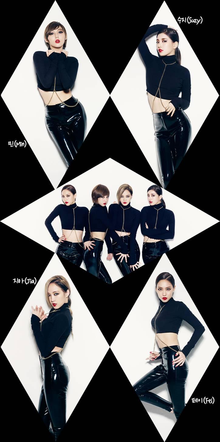 "Miss A เผยภาพทีเซอร์กลุ่มของพวกเธอสำหรับ ""Hush"""