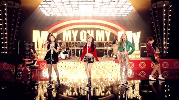 "Girls Generation ปล่อย MV เพลงใหม่ภาษาญี่ปุ่น ""My Oh My""!"