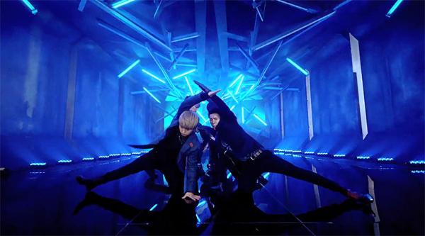 """ตัวอย่าง 30 วินาทีสำหรับ PV เพลง """"Blue World"""" ของ Super Junior"""