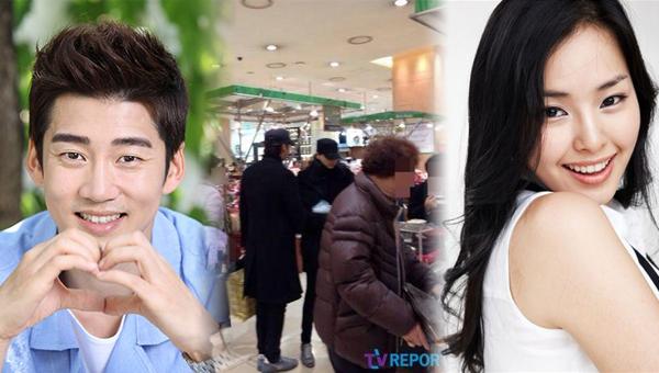 ยุนคเยซังและฮันนี่ลีถูกพบขณะเดทกันในห้างชินเซเก