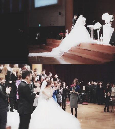อุต๊ะ!!ยุนอึนเฮรับช่อดอกไม้ได้ในงานแต่งงานของ Jadu!