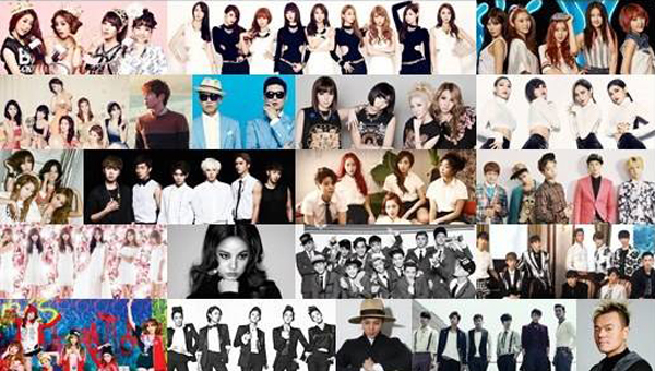 """เผยรายชื่อศิลปินชุดแรกสำหรับงาน """"2013 SBS Gayo Daejun"""""""