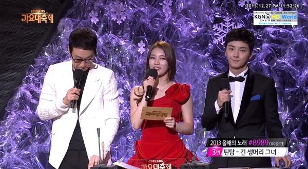 รวมการแสดบนเวทีของงาน 2013 KBS Gayo Daejun!! Part 2 + ผู้ชนะเพลงยอดเยี่ยมแห่งปี!!
