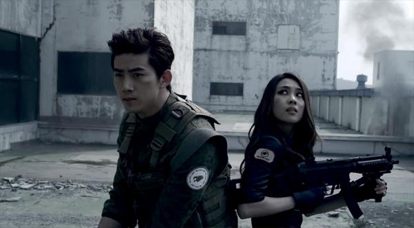 """2PM & Miss A โชว์ฉากแอ็คชั่นของพวกเขาใน Trailer ของเกม """"CrossFire"""""""