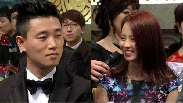 """แกรี่บอกว่าเขาต้องการซงจีฮโยกลางงานประกาศรางวัล """"2013 SBS Entertainment Awards"""""""