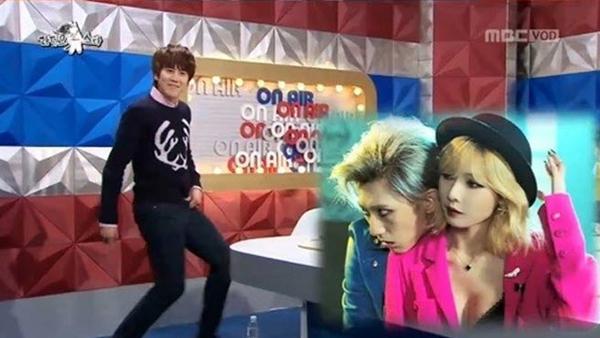 คยูฮยอน Super Junior อยากจะร้องคู่กับฮยอนอา 4Minute บ้าง??