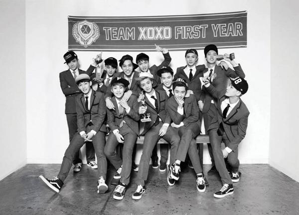 ว้าว!!EXO กลายเป็นศิลปินกลุ่มแรกที่ขายได้มากกว่า 1 ล้านแผ่นในรอบ 12 ปี!!