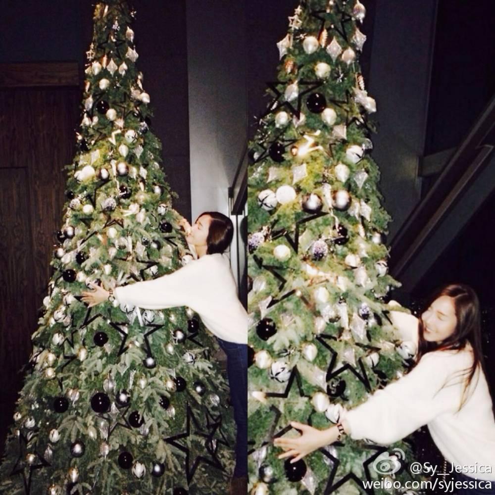 เจสสิก้า Girls' Generation อวยพรแฟนๆของเธอในช่วงเทศกาลคริสต์มาส