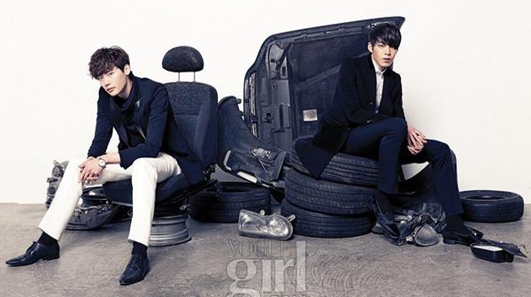 Lee Jong Suk-Kim Woo Bin-2