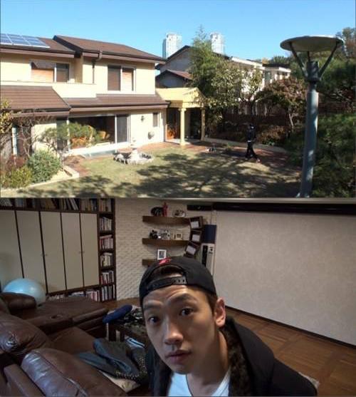 """เรน (Rain) โชว์บ้านของเขาในตอนแรกของ """"Rain Effect"""""""