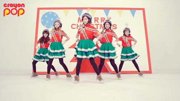 """น่ารักอ่ะ!!Crayon Pop ปล่อย MV คัมแบ็คส่งท้ายปีในเพลง """"Lonely Christmas""""!"""