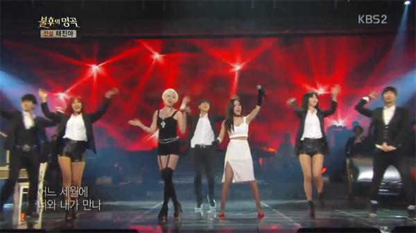"""อึนจองและฮโยมิน T-ARA กลายเป็นนักร้องสาวสุดเซ็กซี่ใน """"Immortal Song 2"""""""
