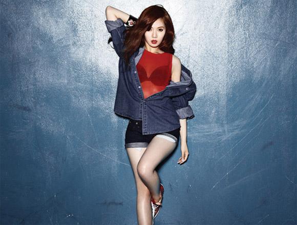 ฮยอนเผยวิธีคลายความเครียดจากภาพลักษณ์เซ็กซี่ของเธอ
