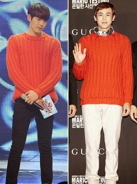 ใครใส่แล้วดูดีกว่ากันระหว่างสองหนุ่มหล่อ: คิมอูบินและนิชคุณ!!