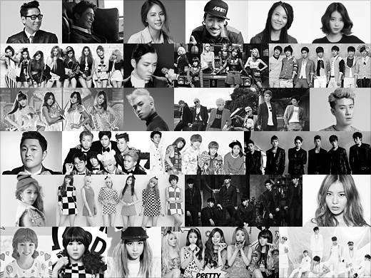 """เผยรายชื่อชุดที่สองสำหรับงาน """"2013 SBS Gayo Daejun"""""""