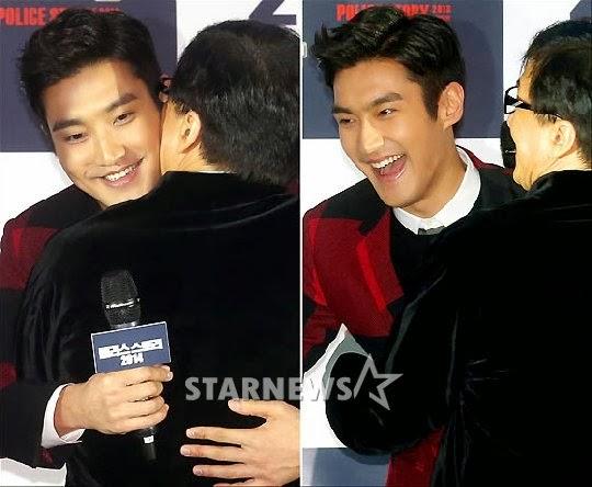 ซีวอน Super Junior เซอร์ไพรส์ได้รับจุ๊บจากเฉินหลง!!