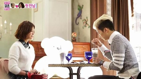 มาดูเรตติ้งการพบกันครั้งแรกของคู่แต่งงานใหม่อูยอง 2PM และพัคเซยองจาก We Got Married