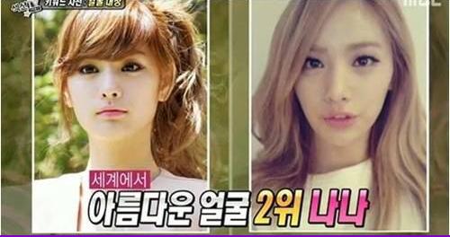นานะ After School แสดงความเห็นถึงเรื่องที่เธอได้อันดับสองของสาวที่สวยที่สุดในโลก
