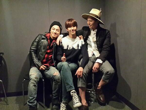 """กวางฮี ZE:A, จีดราก้อนและแทยัง BIGBANG โชว์ภาพความสนิทสนมของ """"88 Line"""""""