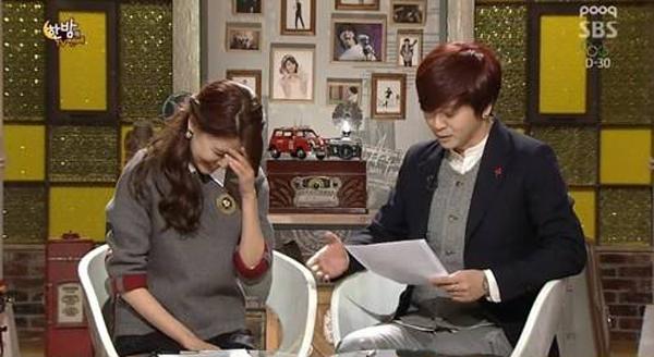"""ซูยอง SNSD พูดถึงความสัมพันธ์ของเธอกับจองคยองโฮในรายการ """"One Night of Entertainment"""""""