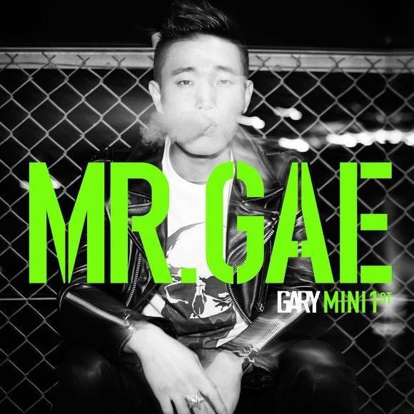 """แกรี่ปล่อยภาพแจ็คเก็ตสำหรับอัลบั้มเดี่ยวของเขา """"MR.GAE"""""""
