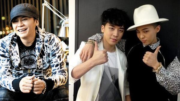 YG-Seungri-G Dragon