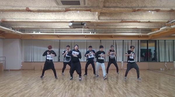 """GOT7 ปล่อยคลิปซ้อมเต้นสำหรับเพลง """"Girls Girls Girls"""""""