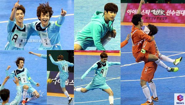 EXO, B2ST, ZE:A, SHINee และคนอื่นๆแข่งขันกันกีฬาใน ′Idol Star Athletics Championships′