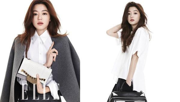 """จอนจีฮยอน (จวนจีฮุน) โชว์สไตล์ชิคๆของเธอใน """"Elle"""""""