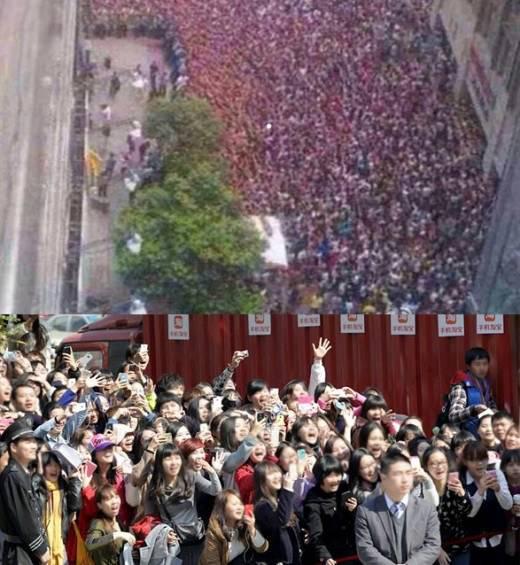 """แฟนๆในประเทศจีนกว่า 5,000 คนมาดูอีมินโฮถ่ายทำ CF สำหรับ """"Taobao"""""""