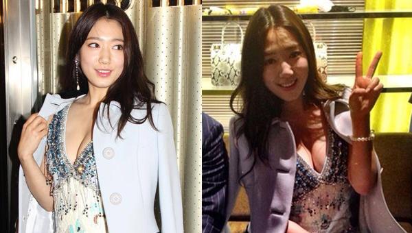 อื้อหือ!!พัคชินเฮได้โชว์สเน่ห์สุดเซ็กซี่ของเธอขณะไปร่วมงานเปิดแบรนด์แฟชั่นในฮ่องกง!!