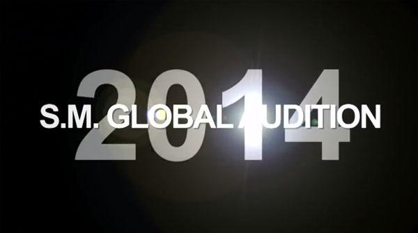 """เตรียมตัว!!SM Entertainment จัดออดิชั่นใน 7 ประเทศสำหรับ """"2014 S.M.Global Audition"""""""