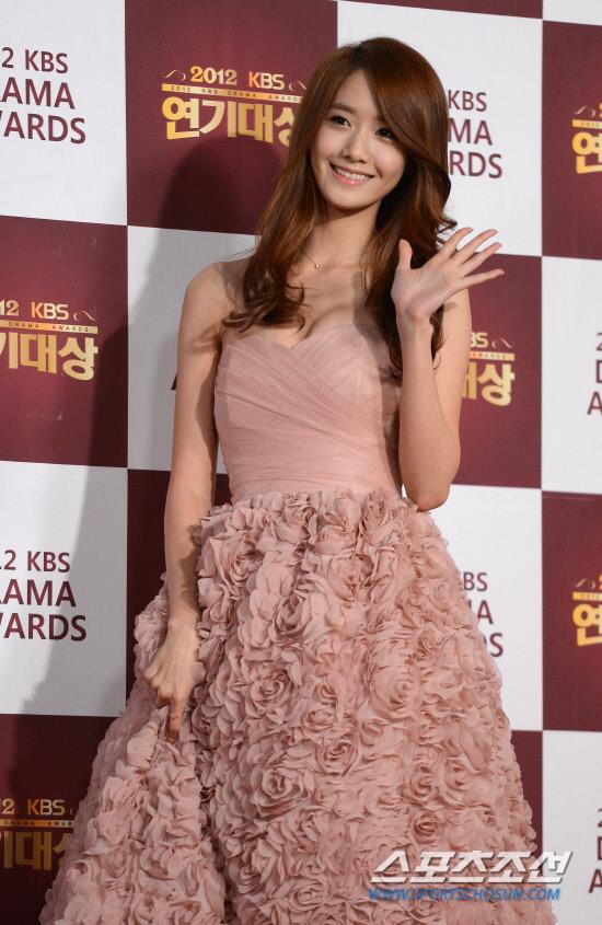 snsd yoona kbs drama awards