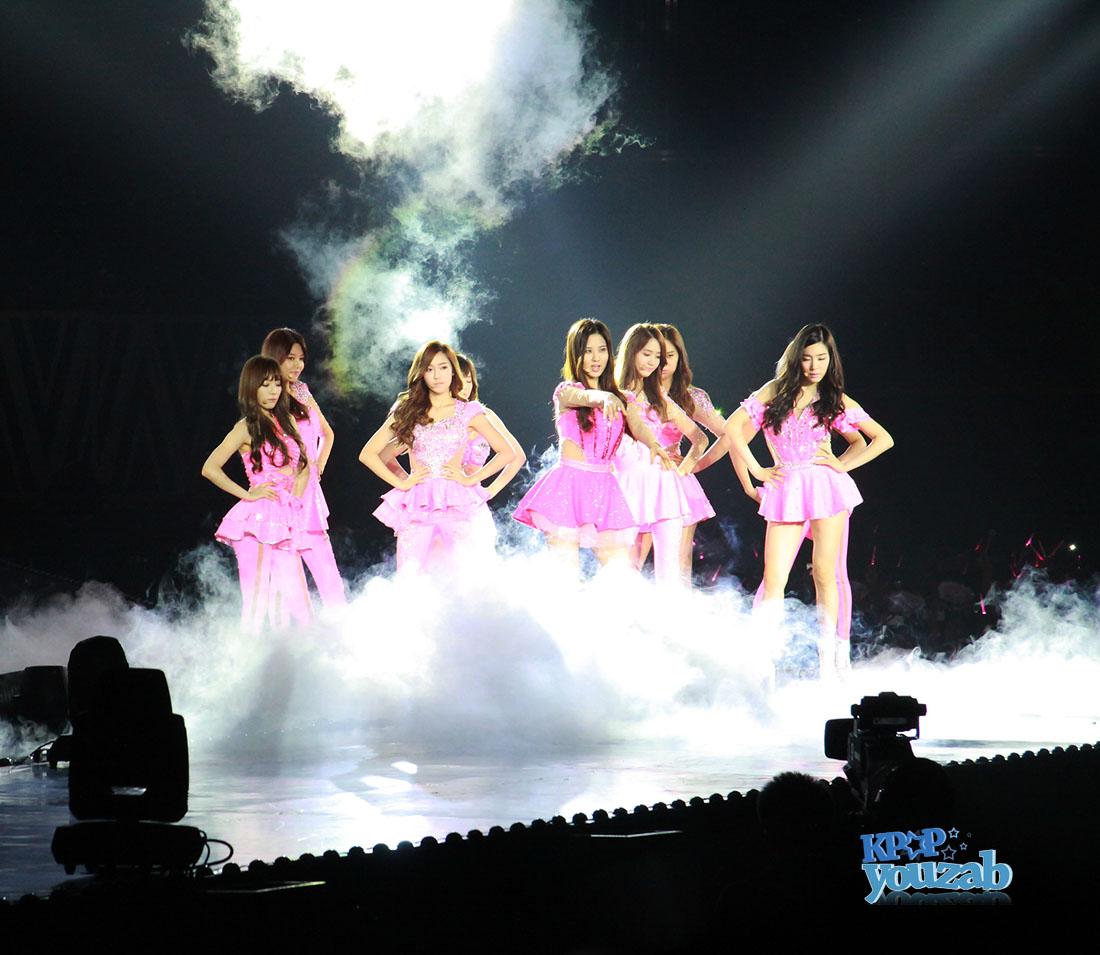 """ฟิน!!คอนเสิร์ต """"GIRLS' GENERATION World Tour ~Girls & Peace~ in BANGKOK"""" ประสบความสำเร็จไปได้ด้วยดี"""