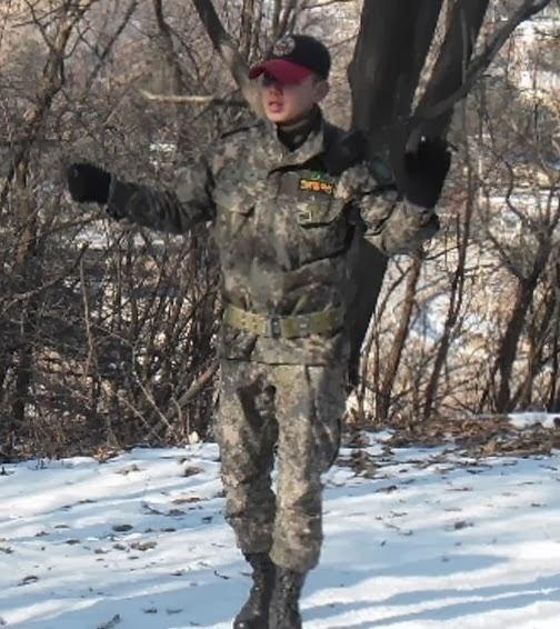 เผยภาพล่าสุดของหนุ่มยูซึงโฮในกองทัพ!!