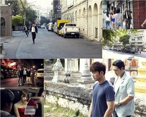"""นักแสดงละคร """"Full Sun"""" เผยภาพฉากที่มาถ่ายทำในไทย + ปล่อยทีเซอร์ละคร"""