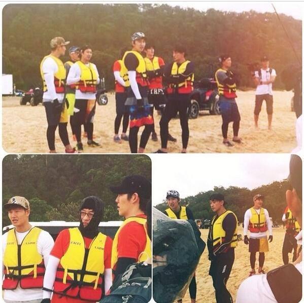 ภาพบรรยากาศการเดินทางและการถ่ายทำของสมาชิก Running Man กับเรนและคิมอูบินในออสเตรเลีย!!